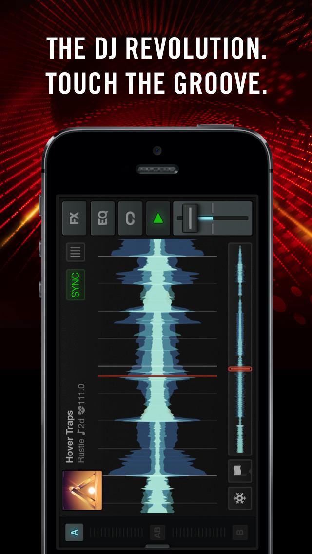 Traktor DJ for iPhone screenshot 1
