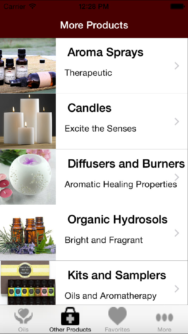 Mountain Rose Herbs Essential Oils screenshot 3
