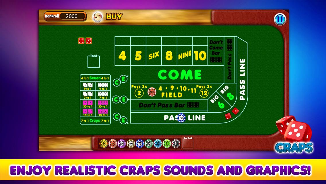 Bankroll for craps appeak poker pc