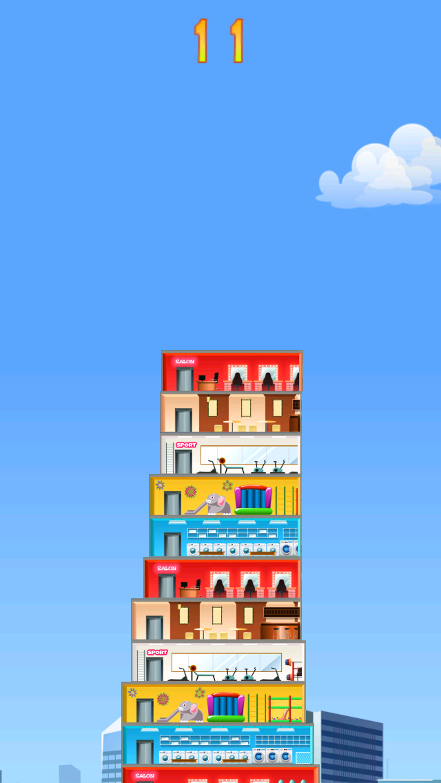 Tower Stack Building Blocks screenshot 1