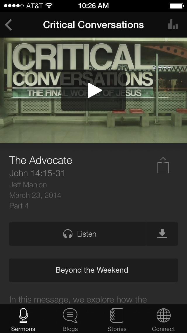 Ada Bible Church App screenshot 3