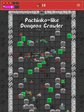 One Tap RPG - Pachinko-like Dungeon Crawler screenshot 6