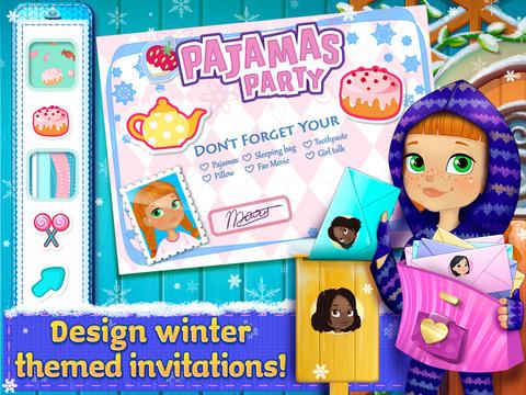Frosty PJ Party: Winter Dreams screenshot 7