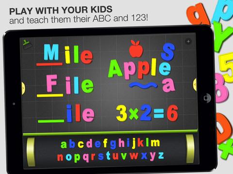 ABC - Magnetic Alphabet HD for Kids screenshot 1