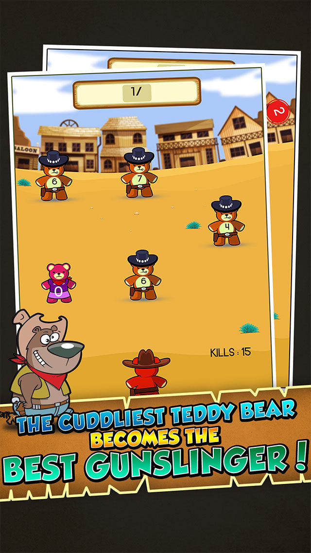 Teddy Bear Cops screenshot 1