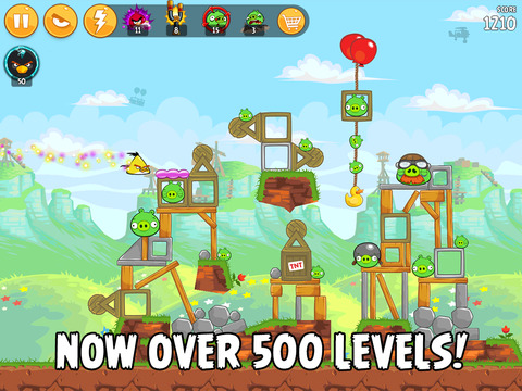 Angry Birds HD screenshot #5