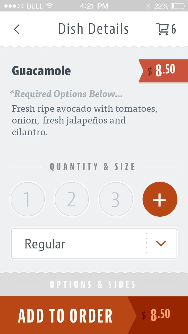 La Frontera Mexican Grill screenshot 4