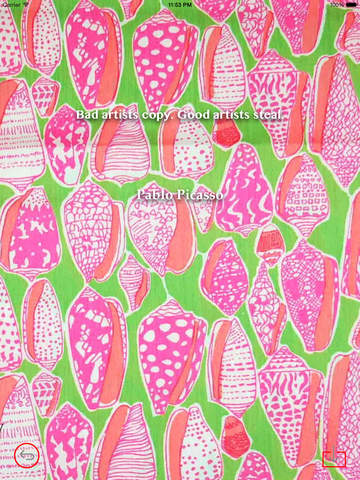 Wallpaper for Lilly Pulitzer Design HD and Quotes Backgrounds Creator with Best Prints and Inspiration screenshot 9