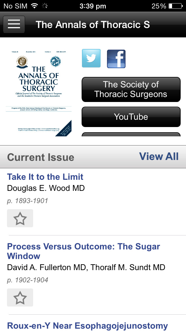 The Annals of Thoracic Surgery screenshot 4