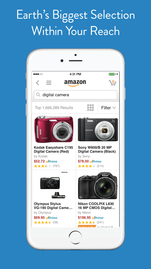 Amazon Shopping screenshot 1