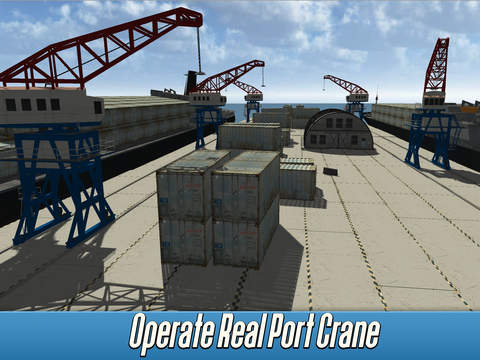 Harbor Tower Crane Simulator 2017 screenshot 6