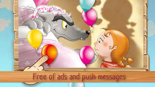 AAA³ Goodnight Puzzles for kids & toddlers: The Big Bad Wolf screenshot 4