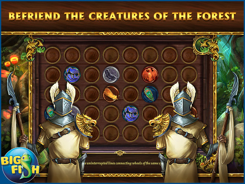 Grim Legends 2: Song of the Dark Swan HD - A Magical Hidden Object Game screenshot 3