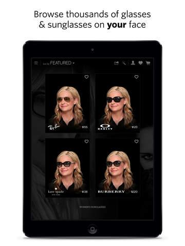 glasses.com for iPad screenshot 2
