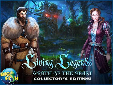 Living Legends: Wrath of the Beast HD - A Magical Hidden Object Adventure screenshot 5