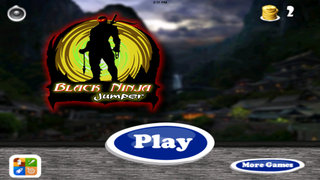 Black Ninja Jumper Pro - Origin of Chaos Clash War screenshot 1