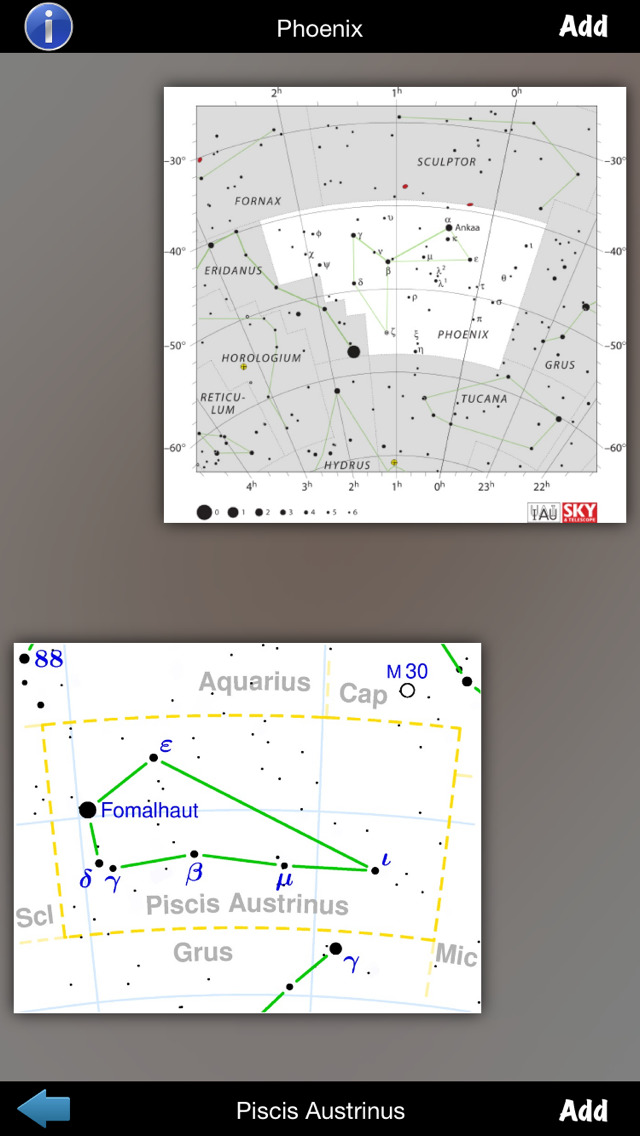 Constellations Encyclopedia screenshot 5