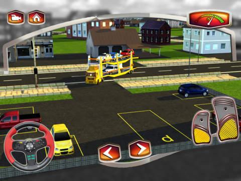 Car Transport Trailer 3D screenshot 8