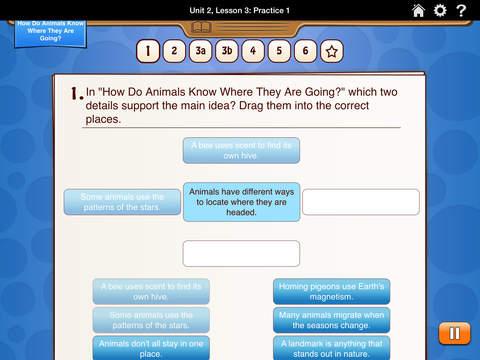 HMH English Learner Assessment Practice Grade 3 screenshot 5