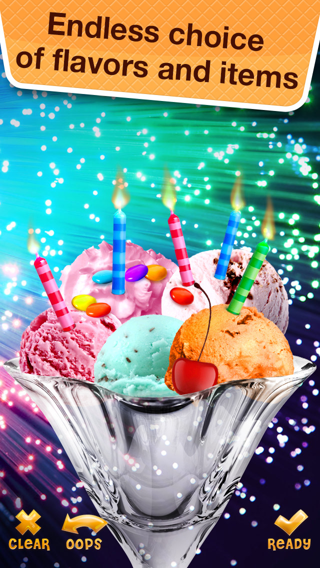 Sundae for Messenger - Make Yummy Desserts with Ice Cream Maker Game screenshot 2