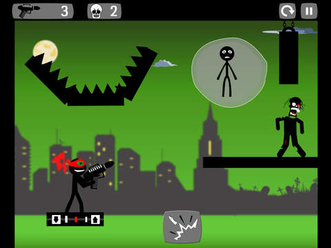 Stickman Zombie Shooter screenshot 10