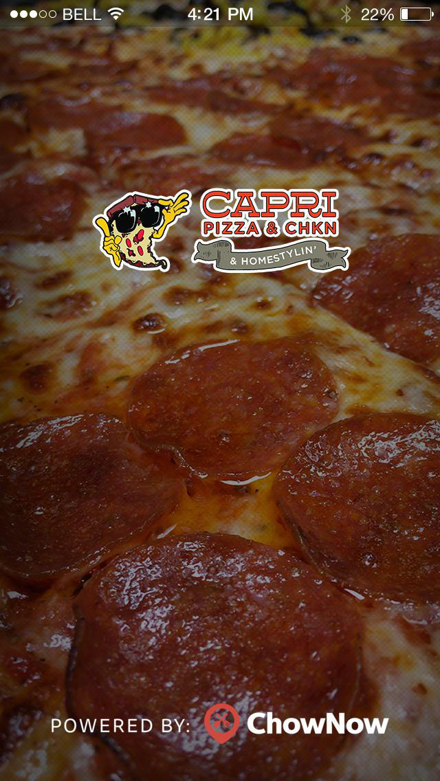 Capri Pizza Akron screenshot 1
