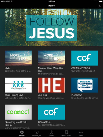 CCF App screenshot 4