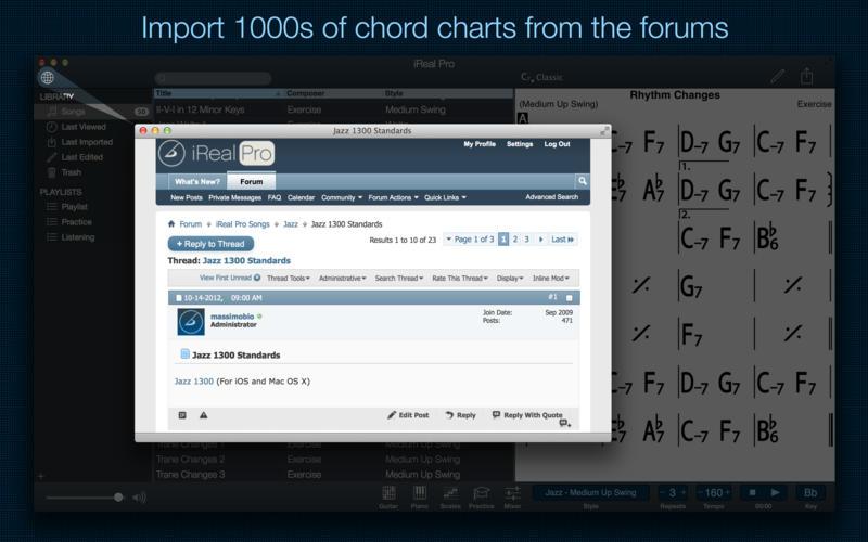 iReal Pro screenshot 3