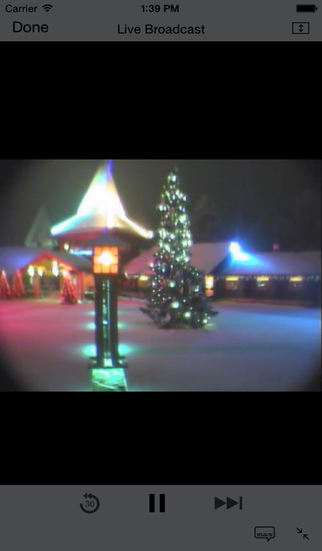 Live Santa Camera screenshot 1