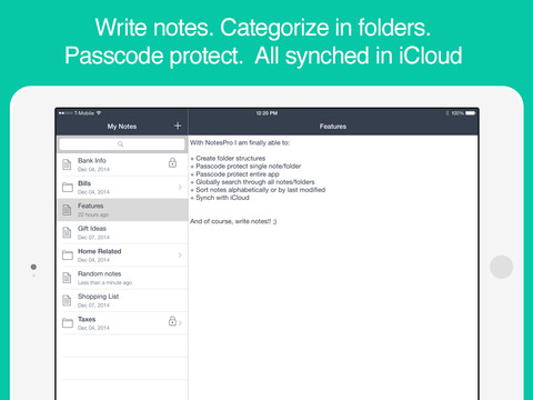 NotesPro - Secure Notes with Folders and Passcode screenshot 6