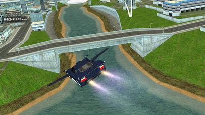 AirBorne Flying Car : Fast Racing Sim-ulator 2017 screenshot 1