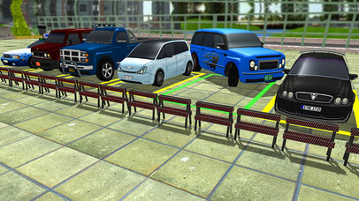 Land Cruiser Parking Stand 3D screenshot 2