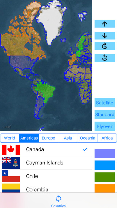 3D Visited Countries screenshot 2