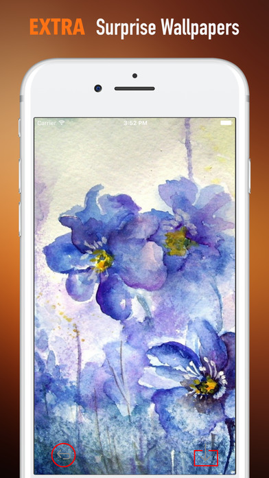 Watercolour Flowers Wallpapers HD- Quotes and Art screenshot 3