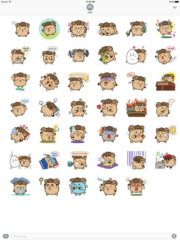 Cute Aries Zodiac Sticker screenshot 4