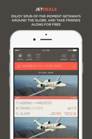 JetSmarter | Fly on Private Jets - náhled