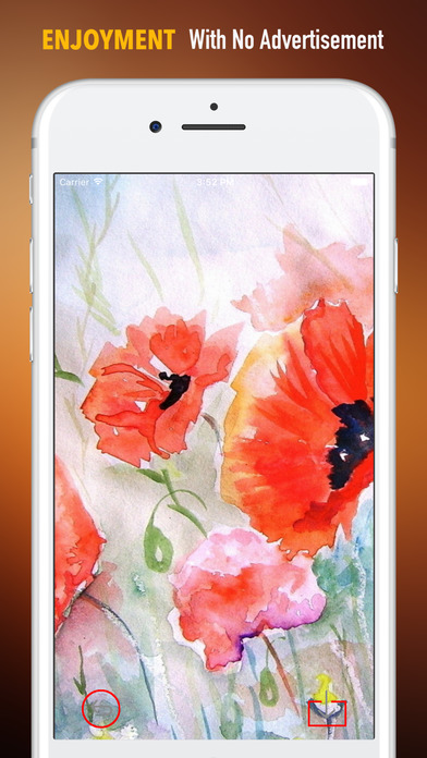 Watercolour Flowers Wallpapers HD- Quotes and Art screenshot 2