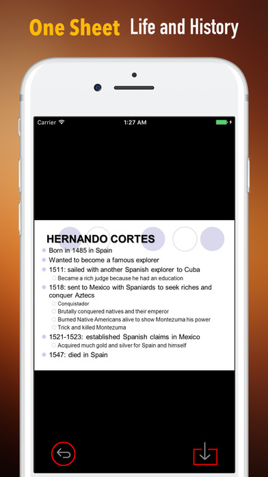 Biography and Quotes for Hernan Cortes screenshot 2