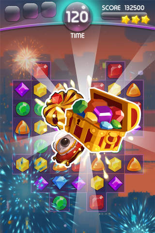 Jewel Land Monster: match 3 puzzle games - náhled