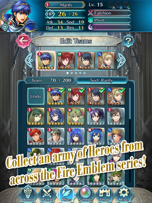 Fire Emblem Heroes screenshot 10