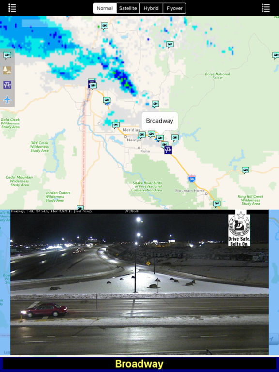 Idaho NOAA Radar with Traffic Cameras Pro screenshot 8