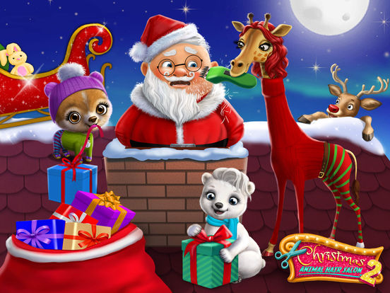 Christmas Animal Hair Salon 2 - No Ads screenshot 6