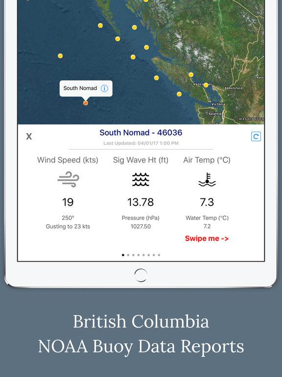 Canada Marine Weather Forecast screenshot 5