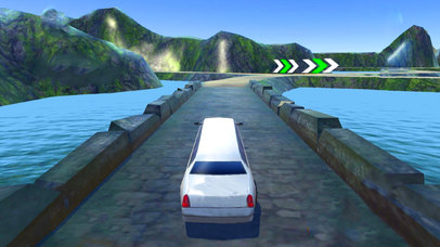 Off-Road Limo Hill Climber : 3D Car Par-king 2016 screenshot 3