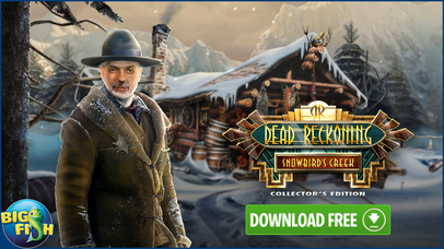 Dead Reckoning: Snowbird's Creek - Hidden Objects screenshot 5