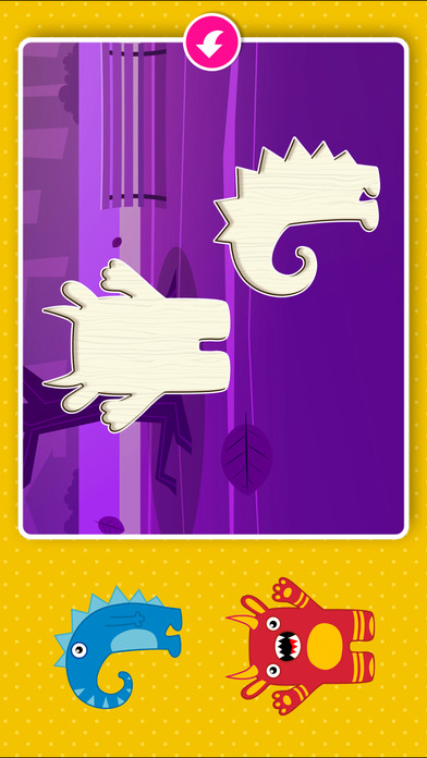 Monster Puzzle Games: Toddler Kids Learning Apps screenshot 3
