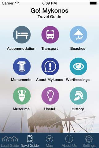 Mykonos Amazing Travel Guide - Go! Mykonos App - náhled