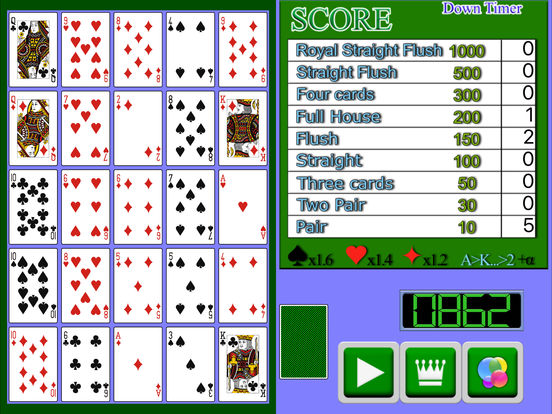 Poker Solitaire Card Game2 screenshot 4