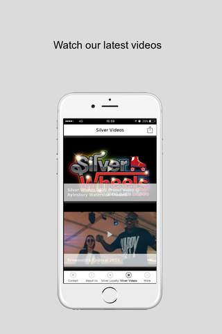 JSilver Events - náhled