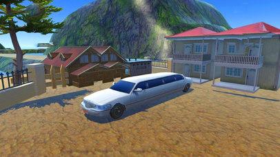 Off-Road Limousine Hill Climbing : Real Car Drive screenshot 1